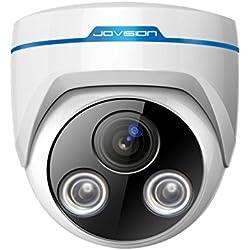 JVS-N63-DY / Jovision Dome IP Kamera Indoor, 1 MegaPixel, HD, 720P, Überwachungskamera, Netzwerkkamera, Bewegungserkennung, Email Alarm, Hochleistungs Infrarot LEDs, Objektiv Richtung manuell einfach verstellbar