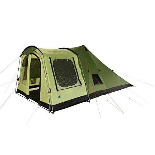 41 nmJ8vy%2BL. SS500  - 10T Outdoor Equipment Unisex's Tropico 4 Tunnel Tent, Green, One Size/4 Persons