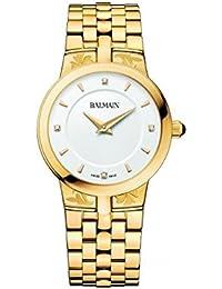 Balmain Arabesques Femme 31mm Bracelet   Boitier Acier Inoxydable Plaqué Or  Quartz Montre B4130.33.26 9e4ada030ab