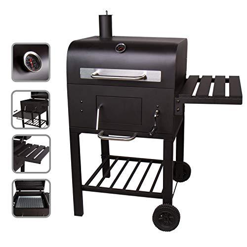 CCLIFE Barbecue au Charbon de Bois Une Grande Surface de Grill - Barbecue Charbon - Fumoir - BBQ...