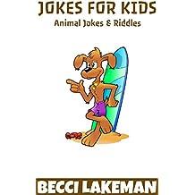 Jokes for Kids: Animal Jokes & Riddles (English Edition)