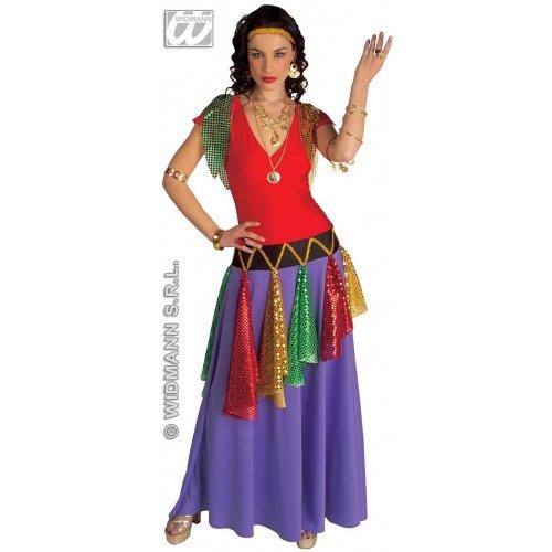 Damen Prinzessin Erwachsene Zigeuner Für Kostüm - Kostüm Gypsi Prinzessin Queen M 38 Zigeuner