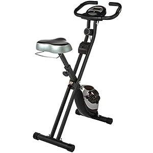 Ultrasport F-Bike Heavy, Fahrradtrainer, Heimtrainer, Fitnessfahrrad mit...