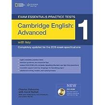 Exam Essentials: Cambridge Advanced Practice Tests 1 w/key + DVD-ROM (Exam Essentials Practice Tests)