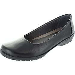 Suave Jewel, Damen Jewel , schwarz - schwarz - Größe: 37.5