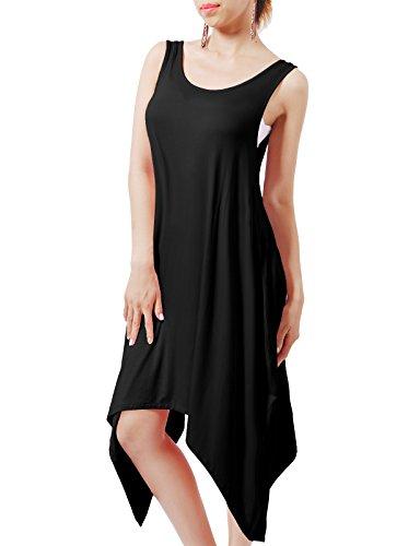 h2h-womens-classic-round-neckline-stretch-flared-short-swing-dress-black-eu-m-asia-m-cwdsd0144