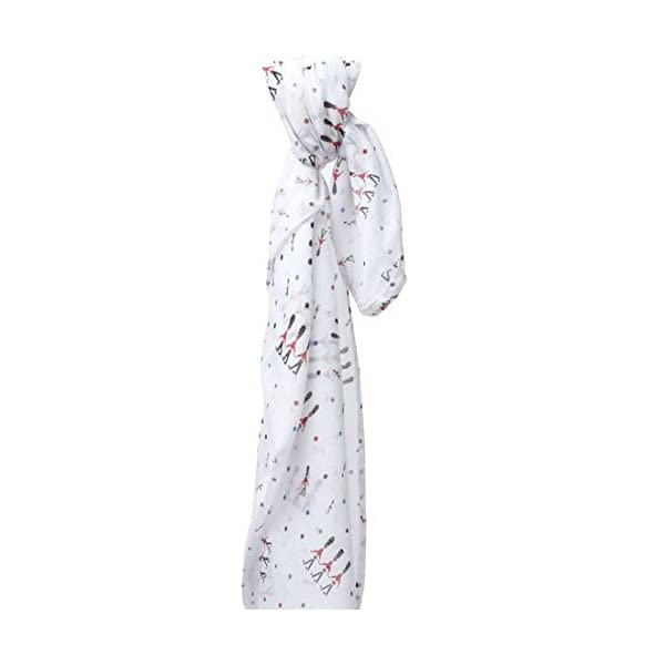 Piccalilly Organic Cotton White Boy or Girl Changing Guards Muslin Swaddle 120x120cm Piccalilly Our single layer lightweight changing guards muslin swaddle makes a perfect newborn baby gift. It's free from harmful chemicals, soft and breathable. But what makes this lovely fabric so very special is its versatility and multitude of uses. Measuring 120 x 120cm our large muslin wraps are perfect as a swaddling blanket. Use as a nursing cover, softly drape the lightweight muslin over baby while breast feeding. 3