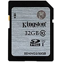 Kingston SD10VG2/32GB - Tarjeta SD UHS-I SDHC/SDXC (Clase 10 - 32GB)