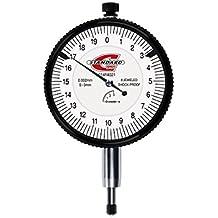 Standard Gage 01414021Comparatore di Precisione, d. 58mm, calibro Panne 3mm, scala del Passo del valore di 0.002mm, 0.2mm/puntatore di rotazione
