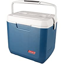 Coleman Cool Box Xtreme 28QT, small high performance cooler box, keeps ice for 3 days, Ice box for drinks, picknicks and Camping, cool box capacity 26 Liters, use with ice packs