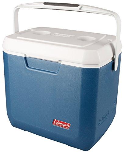 Coleman passive Kühlbox 28Qt Xtreme, Hochleistungskühlbox, kühlt bis zu 3 Tage, Thermobox mit 26 L Fassungsvermögen, mobile passiv Kühlbox mit stabilem Tragegriff (Xtreme Wand)