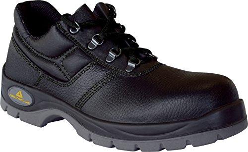 Deltaplus Delta Plus Panoply jet 2S1–da uomo/donna–Puntale in acciaio scarpe da lavoro, Nero (Black), 11 UK