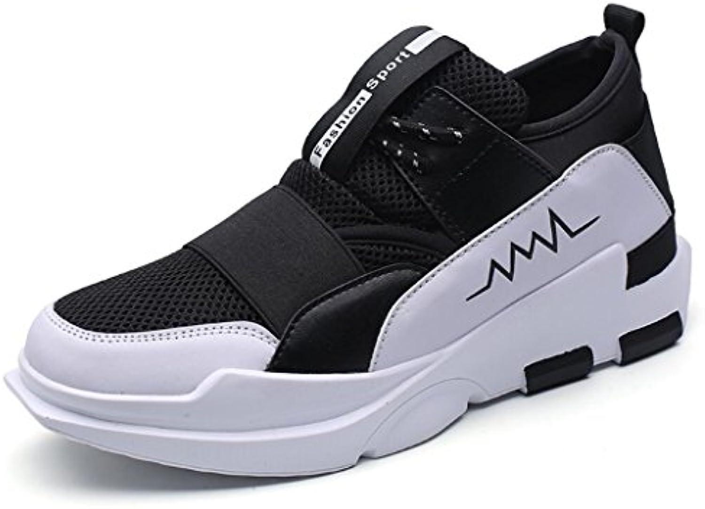 caiuml Männer/Frauen Large Size Mesh Layer Vier Jahreszeiten Turnschuhe Laufschuhe Größe Erhöhen Schuhe Liebhaber