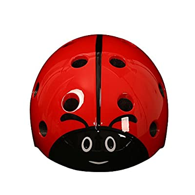 Kids helmets Children's Multi-Sport Safety Ladybug Helmet Bike Cycling Skating Scooter Helmets for Girls / Boys by Shuangjihshan