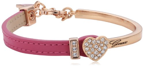 Guess Ubs91311 Color Chic Demi Lizard Pink Rose Gold Plated Ladies Bracelet