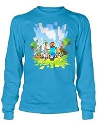 Minecraft Adventure Boys 8-20 Long Sleeve Tee