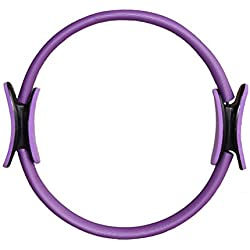 LEORX Aro de pilates Pilates resistencia Fitness Yoga círculo mágico ejercicio anillo anillo de tonificación