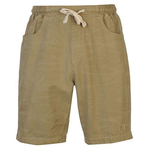 ocean-pacific-walk-herren-shorts-leicht-freizeit-sommer-kurze-hose-baumwolle-sand-medium