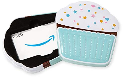 Amazon.de Geschenkkarte in Geschenkbox - 500 EUR (Muffin)