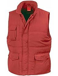 Resultado re94a Promo chaleco acolchado para mujer, Unisex, color rojo, tamaño 3XL