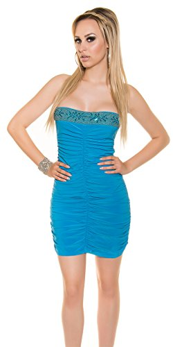 In-Stylefashion - Robe - Brassière - Femme turquoise Türkis taille unique Türkis