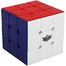 Ceiceili 57mm Cyclone Boys Speed cube 3x3x3 Magic Puzzle Cube Colorful Stickless