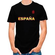 Lolapix Camiseta España Negra selección de fútbol Personalizada Nombre ...