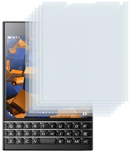 mumbi Schutzfolie kompatibel mit Blackberry Passport Folie klar, Displayschutzfolie (6x)