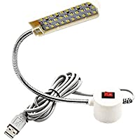 Klarlight 30 LEDs USB Luz LED con el Interruptor para Iluminación de Máquina de Coser,