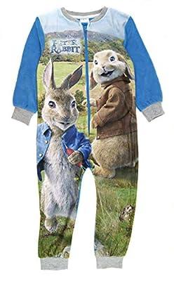 Pijama de forro polar para niños, diseño de personaje de Onesie por Various