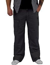 S&LU Herren Cargo/ Chino/ Vintage Hose im super schönen Design Weite 30 - 38, Länge 32 und 34