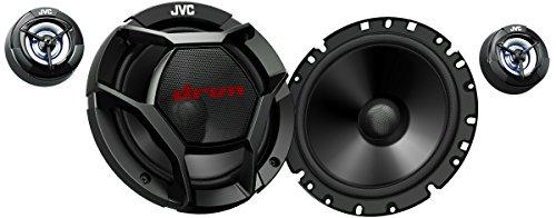 JVC CS-DR1700C 2-Wege Komponenten Lautsprecher 17 cm schwarz 360w Car Audio