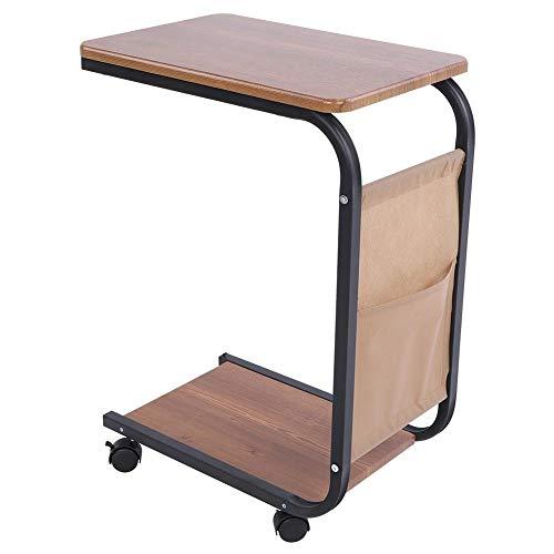 ch, tragbarer mobiler Laptop-Bett-Tablett-Multifunktions-Laptop-Bett-Ständer Premium Lap Desk mit Rädern ()