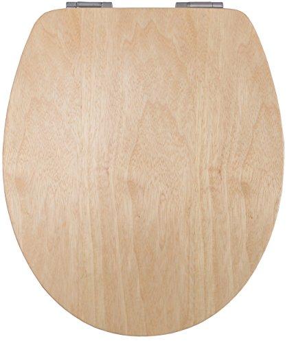 Cornat WC-Sitz LIGNA PLUS Kiefer / Toilettensitz / Toilettendeckel / Klodeckel / WC-Deckel / Absenkautomatik / Echtholz / KSLIGKSC