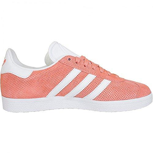 Unbekannt, Sneaker donna arancione Orange sunglow/white