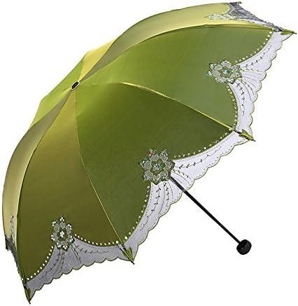 ZQ@QX Pizzo ombrelloni femmina piegare la prossoezione solare ombrellone , , , 2 verde | Fashionable  | A Basso Prezzo  e42649