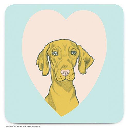 Le cadeau idéal pour les amateurs de 'Vizla Dog. – mignon Cœur fantaisie Dessous-de-verre