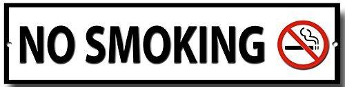 non-fumeur-qualite-signal-metallique-300mm-x-75mm-approximativement-12-x-3