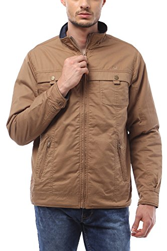 Allen Solly Men Regular Fit Outerwear_amjk515s04091_s_khaki
