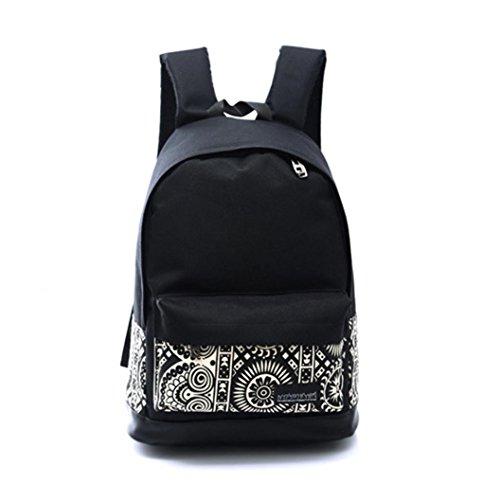 Internet Handtaschen Unisex Jungen Mädchen Segeltuch Rucksack Rucksack Schule Schulter Beutel (Schlanke Schulter-schultasche)