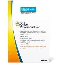 Microsoft Office Professional 2007 (1 Lizenz-Key)