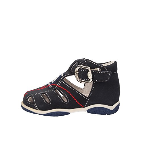 BALDUCCI 17 EU sandali bambino blu pelle scamosciata AF344