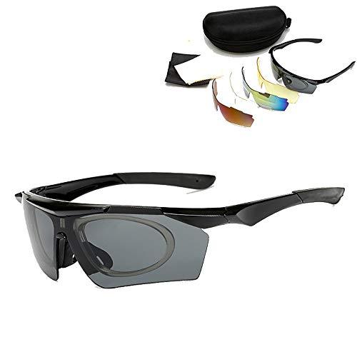 Occhiali da ciclismo all'aperto possono abbinare occhiali miopia in bicicletta sport all'aria aperta occhiali occhiali da sole per uomo e donna occhiali sportivi avvolgenti leggeri da bicicletta