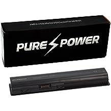 PURE⚡POWER® PLUS Batería del ordenador portátil para HP Pavilion dv5-1070 con las células originales de Samsung SDI (10.8V, 5200 mAh, negro, 6 celdas)