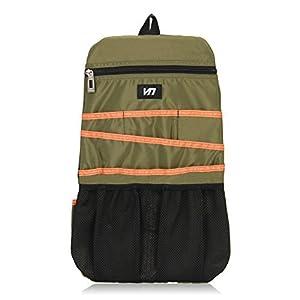Veevan Multi-funcional Bolsa compacta Slip Pack Inserte Mochila Organizador Viajes Kit Gadget Organizador Negro