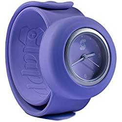 Original Slappie Purple Pastel Slap Watch (BBC Dragons Den Winner) Adults/Kids Size Small