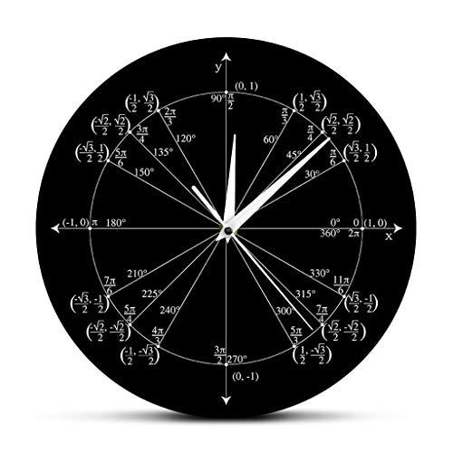 eit Kreis Mathematiklehrer Dreieck Vorschule Kalkül Klassenzimmer Dekoration Geometrische Markierung Winkel Wert Schwarz Moderner Stil Gut Für Zuhause Küche Wohnzimmer Schlafzimmer ()