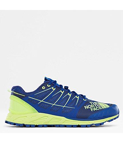 The North Face M Ultra Endurance II, Chaussures de Fitness Homme, Bleu (Bright Blue/Dayglo Yellow 4Cu), 44 EU