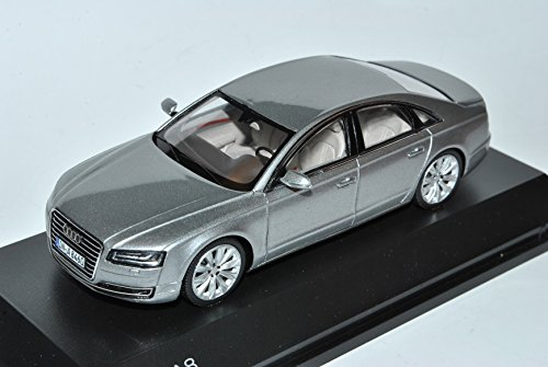 Spark Audi A8 D4 4H Silber Facelift 2014 Modell Ab 2009 1/43 Modell Auto -