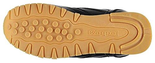 Kappa , Baskets mode pour garçon Noir